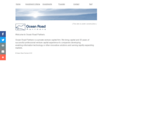 oceanroadpartners.com screenshot