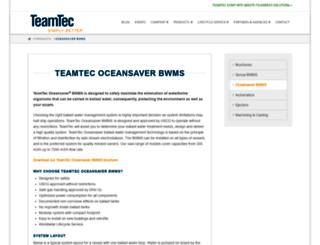 oceansaver.com screenshot