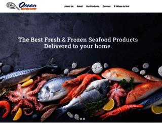 oceanseafood.net screenshot