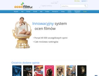 ocenfilm.pl screenshot