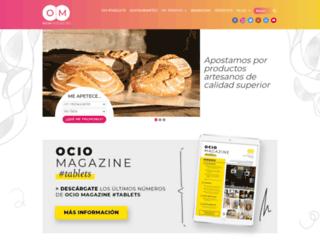 ociomagazine.es screenshot