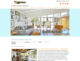 ocmodhomes.com screenshot