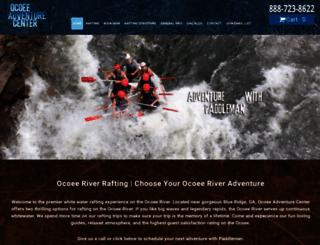 ocoeeadventurecenter.com screenshot
