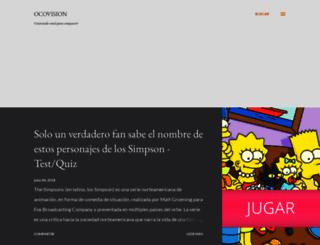 ocovision.blogspot.com screenshot