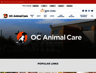ocpetinfo.com screenshot