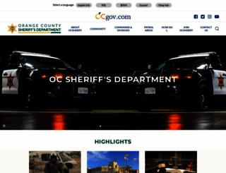 ocsd.org screenshot