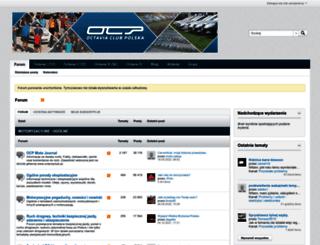 octaviaclub.pl screenshot