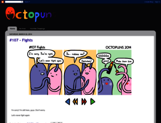 octopuns.blogspot.com screenshot