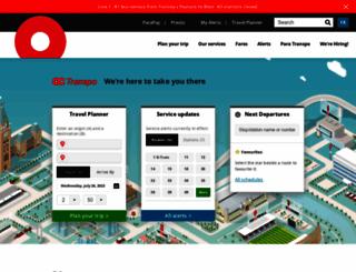 octranspo1.com screenshot