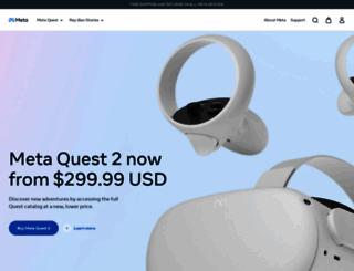 oculus.com screenshot