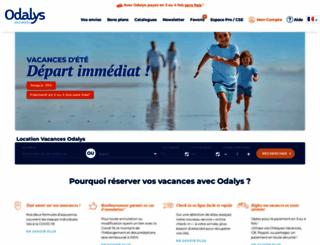 odalys-vacances.com screenshot
