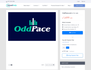 oddpace.com screenshot