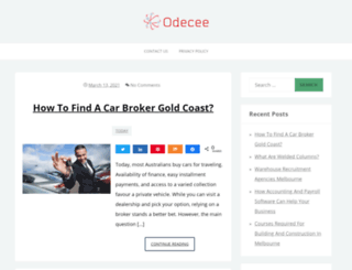 odecee.com.au screenshot