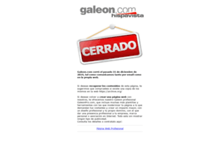 odesa.galeon.com screenshot