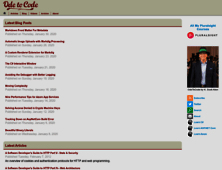 odetocode.com screenshot