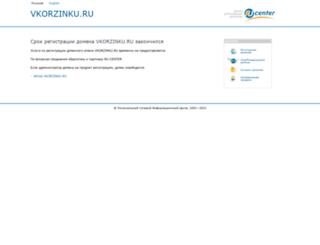 odezhda-aksessuary.vkorzinku.ru screenshot