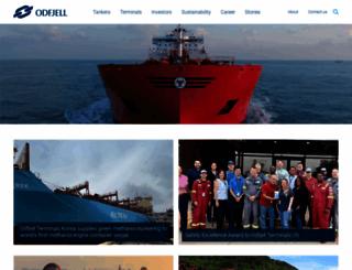 odfjell.com screenshot