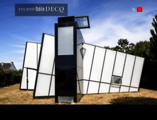 odiledecq.com screenshot