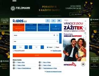 odis.idos.cz screenshot