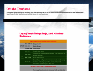 odisha.tourism1.org screenshot