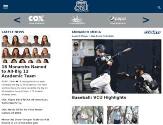 odusports.cstv.com screenshot
