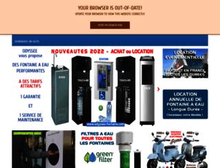 odyssee-fontaine.com screenshot
