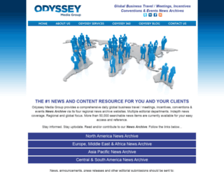 odysseymediagroup.com screenshot