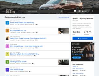 odysseyownersclub.com screenshot