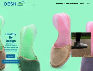 oeshshoes.com screenshot