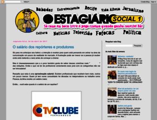 oestagiariosocial1.blogspot.com.br screenshot