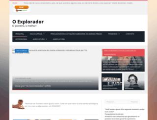 oexplorador.com.br screenshot