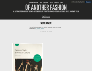 ofanotherfashion.tumblr.com screenshot