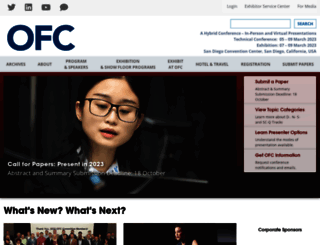 ofcconference.org screenshot