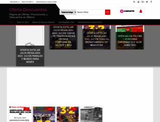 ofertadescuentos.com screenshot