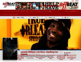 offbeat.com screenshot