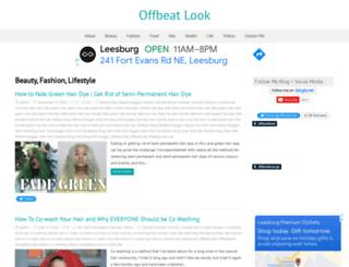 offbeatlook.com screenshot