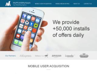 offers.myworldmyapps.com screenshot