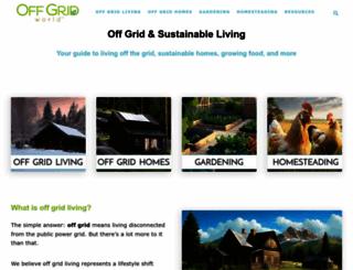 offgridworld.com screenshot