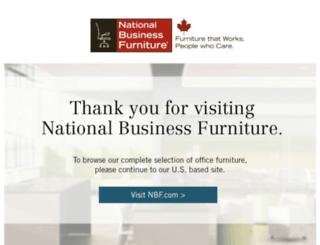 office-desks.nationalbusinessfurniture.ca screenshot