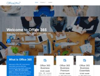 office24x7.com screenshot