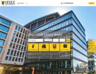 officeadvisor.in screenshot