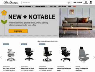 officedesigns.com screenshot