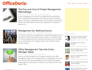 officedoris.com screenshot
