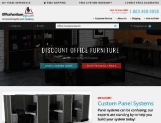 officefurniture2go.com screenshot