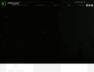 officelightconstruction.com screenshot