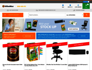 officemax.co.nz screenshot