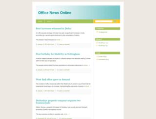officenewsonline.wordpress.com screenshot