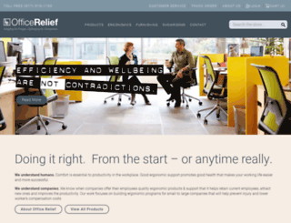 officerelief.com screenshot