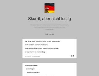 official-deutschland.tumblr.com screenshot