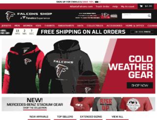 officialfalconsgear.com screenshot